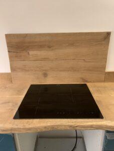 Plan de travail de cuisine bois massif
