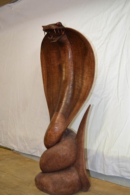 Cobra en bois – 350.00€