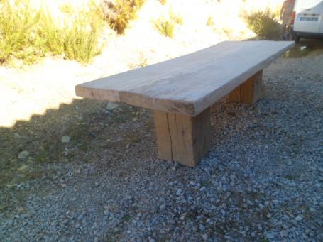 Plateau massif pour table – 1800.00€