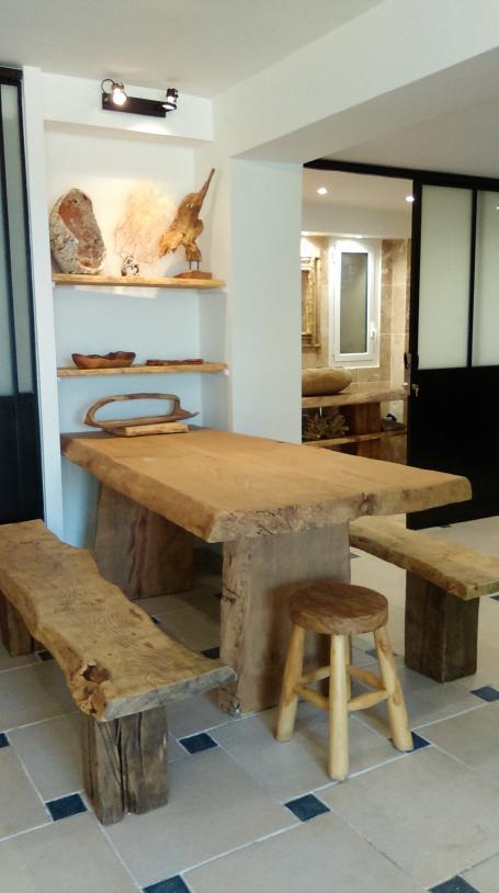 Table en chêne massive – 1800.00€