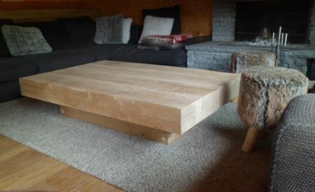 Table basse en chêne – 1800.00€