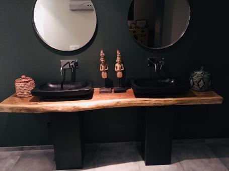 Plan double vasque ambiance zen – 780.00€