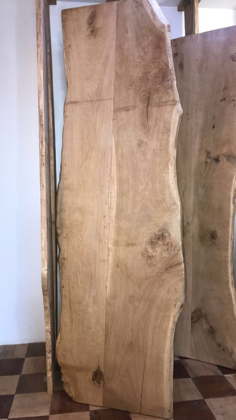Plateau de chêne bords irréguliers – 1600.00€