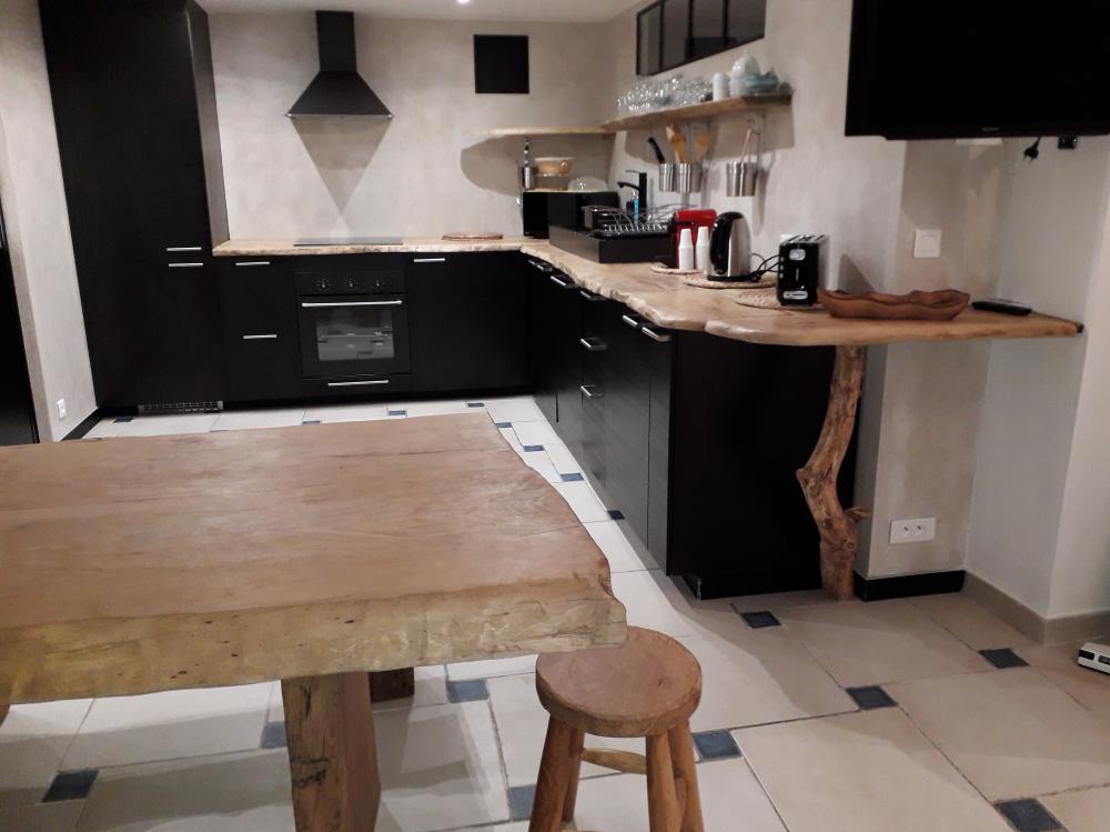 Ilôt de cuisine, chêne clair – 800.00€