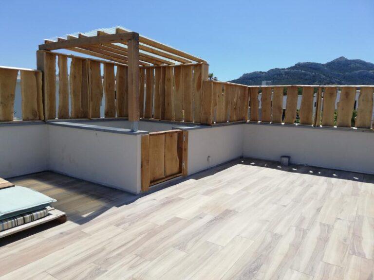 Pare-vue pour toit terrasse