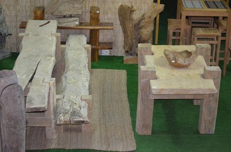Table cèdre et chêne – 850.00€