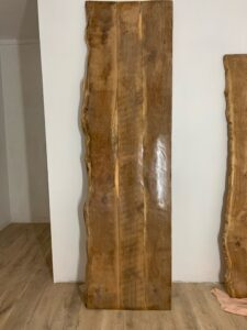 plateau bois vernis